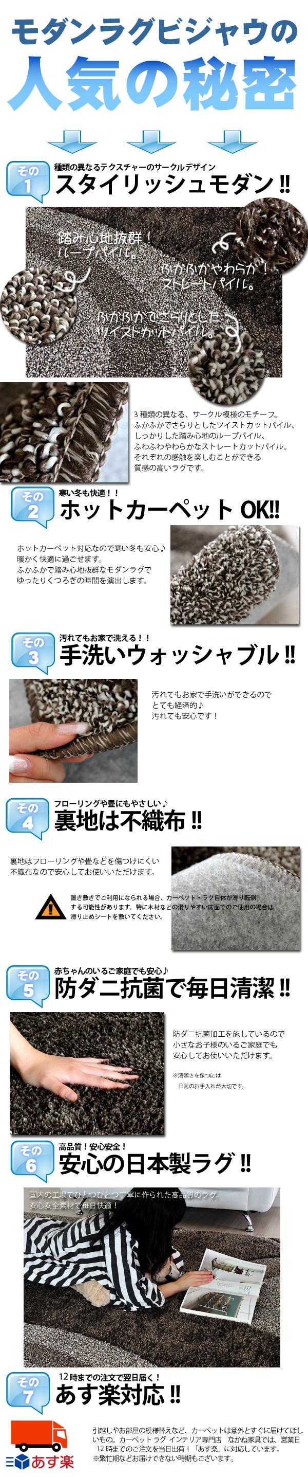 モダンラグ ビジャル 人気の秘密!!