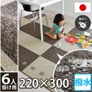 防ダニ・抗菌・安心の日本製・汚れがつきにくい・耐久性・遊び毛がでにくい ダイニングラグ