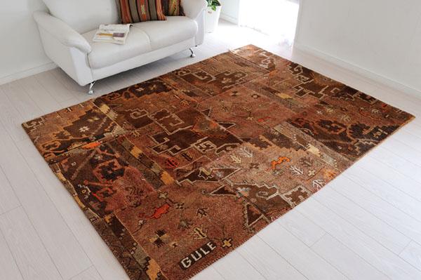 パッチワーク絨毯
