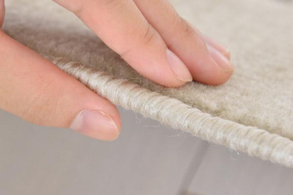 パイル密度が細かく、耐久性にも優れています