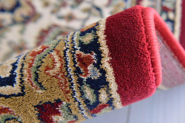 本場ベルギー製のウィルトン織り